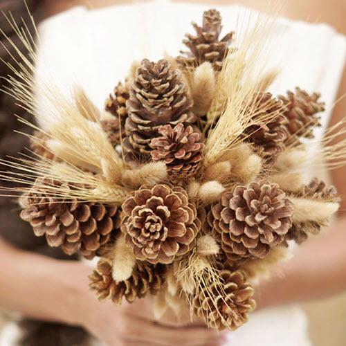 Biến tấu nhỏ cho hoa cầm tay cô dâu thêm ấn tượng