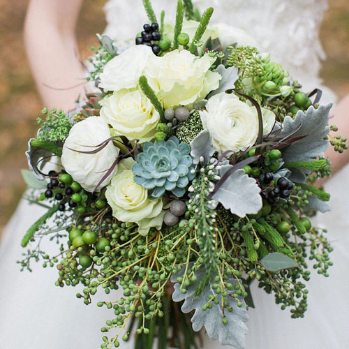 Đánh tan mỡ bụng bằng hoa cầm tay cô dâu