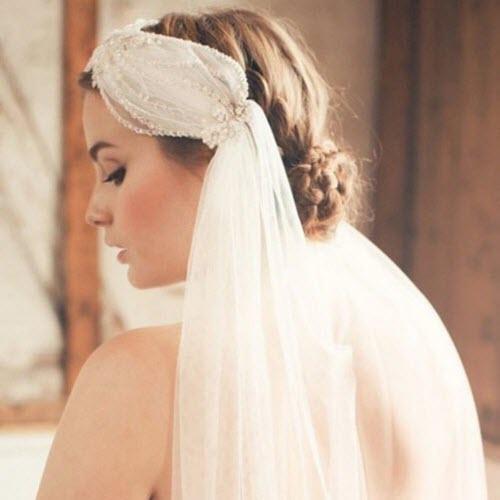 Những phụ kiện tóc thay thế cho khăn voan cô dâu