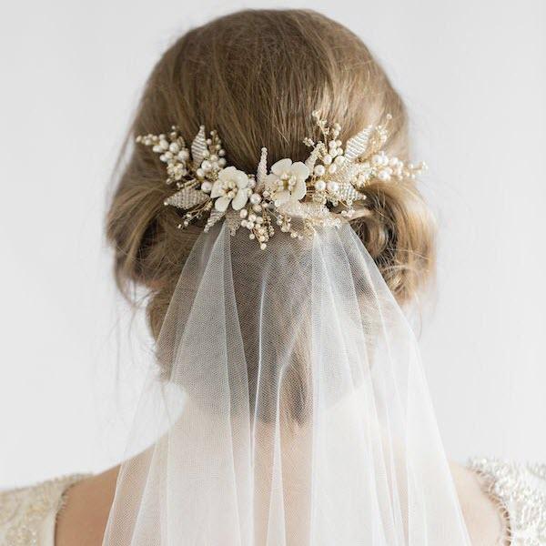 Bí quyết cho cô dâu thêm xinh đẹp với khăn voan cô dâu