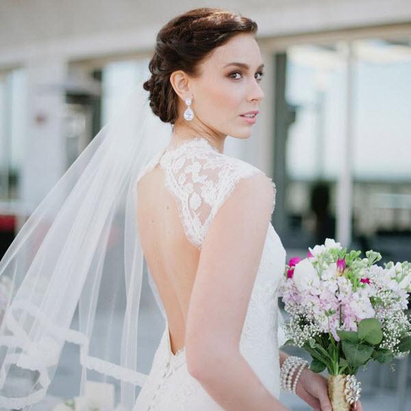 Những sai lầm nên tránh khi trang điểm với khăn voan cô dâu