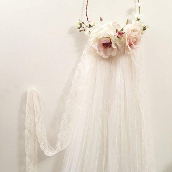 Kinh nghiệm giúp nàng dâu tự tin hơn với khăn voan cô dâu