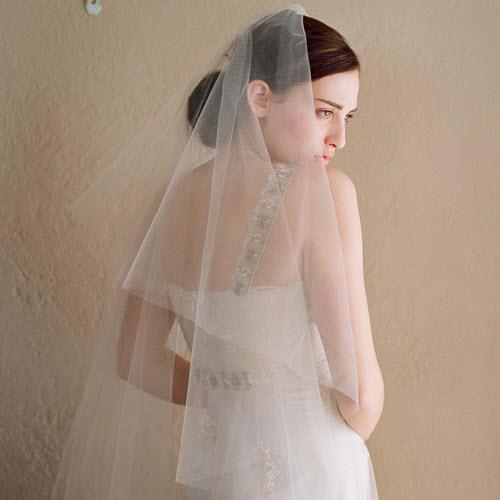 Mẹo chọn khăn voan cô dâu hài hòa với khuôn mặt