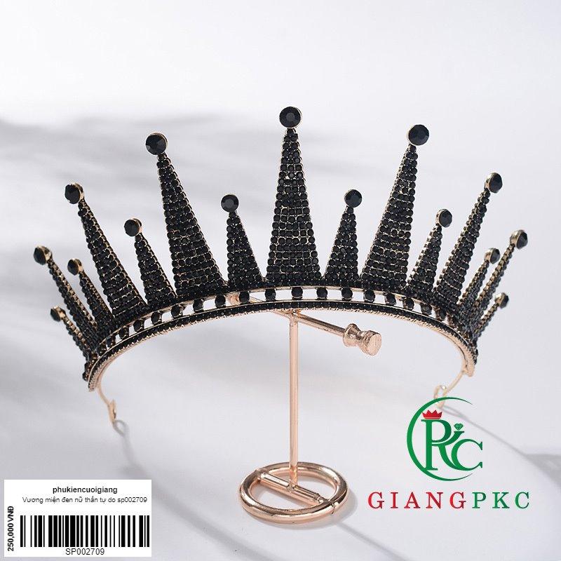 vương miện nữ thần tự do mầu đen