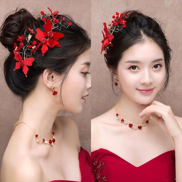 bộ cài đỏ cực đẹp