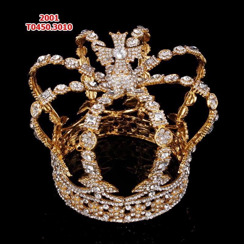 mẫu vương miện  nữ hoàng mầu vàng