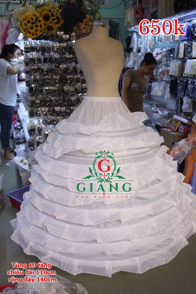 tùng 10 tầng cực chắc chắn khỏe , loại váy to chấp hết