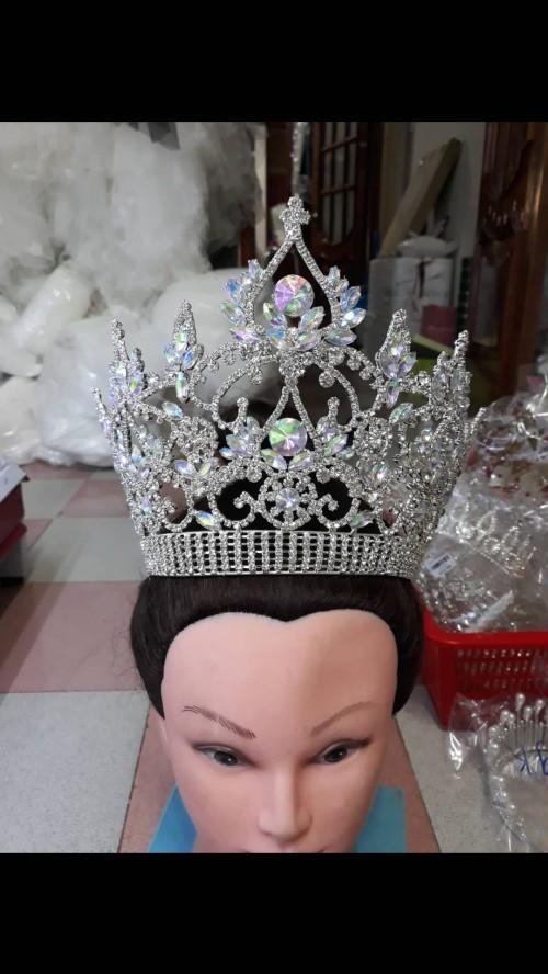 vương miện cô dâu , hoa hậu , hoa khôi dáng cao to , hàng cao cấp